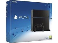 PS4 console 500gb brand new £180