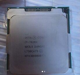 Intel i7 7820X CPU - As New