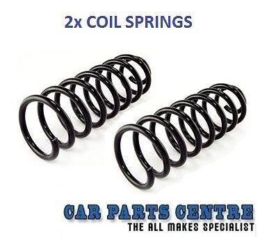 FOR BMW Z4 E85 2.0 2.2 2.5 3.0 REAR SUSPENSION COIL SPRINGS SPRING x2 NEW