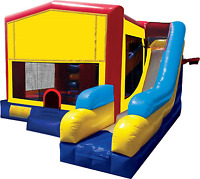 LARGE BOUNCE HOUSE BOUNCY CASTLE WITH SLIDE $270/DAY
