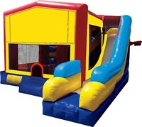 BOUNCY CASTLES BOUNCE HOUSE GAMES PARTY RENTALS TABLES CHAIRS..