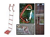 15 foot fire escape ladder - 1 Storey Steps Emergency Chain Life Save Safety