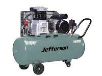 Jefferson 200L litre 3HP Compressor 13amp 10 bar 13.9cfm JEFLW3.0/200L