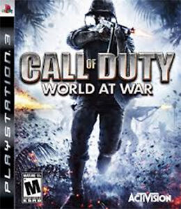 PS3 - CALL OF DUTY - WORLD AT WAR - Play Station 3 game for sale