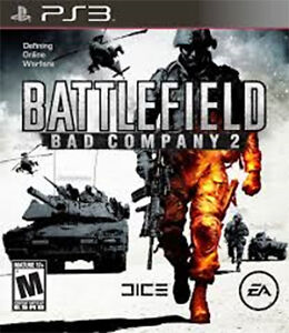 PS3 - BATTLEFIELD - BAD COMPANY 2 - Play Station 3 game for sale West Island Greater Montréal image 1