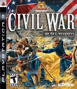 PS3 - CIVIL WAR - SECRET MISSIONS - Play Station 3 game for sale