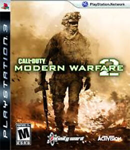 PS3 - CALL OF DUTY - MODERN WARFARE 2 - Play Station 3 game.