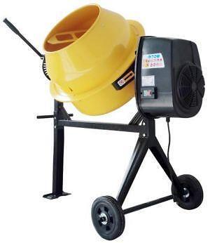 Electric Cement Mixer Ebay
