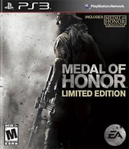 PS3 - MEDAL OF HONOR - LIMITED EDITION - Play Station 3