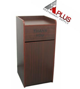 new waste receptacle trash cabinet restaurant trash cabinet tc 828 ebay. Black Bedroom Furniture Sets. Home Design Ideas