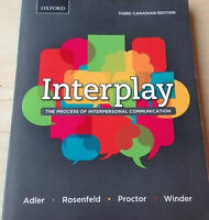 """Camosun College Psych 154 """"Interplay"""" Textbook For Sale"""