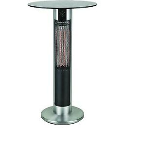 1500 Watt Indoor Outdoor Infrared Bar Table Heater with LED Ligh