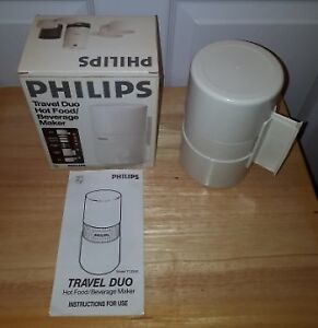 Philips Travel Duo Hot Food / Beverage Maker – NEW IN BOX