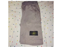 Stone island shorts size small- genuine