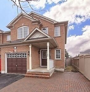 Bright & Spacious Fully Upgraded Freehold End Unit Townhouse!