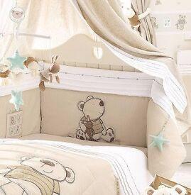 I Love My Bear BRUIN Cot / Cotbed Bedding Set