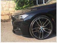 "Bmw M performance style 20"" alloy wheels"