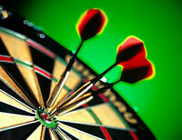 Luck of the draw darts