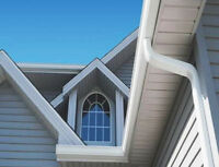 * Eavestrough Gutter Installation & Repair ..All Exteriors