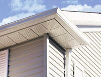Eavestrough, Gutter, Fascia, Sofft - Roof Repair, Installation