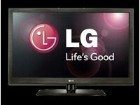 """LG 37"""" lcd tv built in freeview fullhd 1080p good condition fully working ."""
