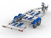 Snipe D5.5-2600R multi-roller boat trailer