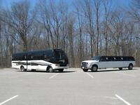 Wedding  Limo Bus Rentals