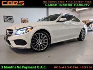 2015 Mercedes-Benz C-Class C400| Keyless Go| Pano Roof| Paddle S