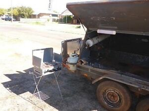 8 by 5 tradesman trailer converted to camper trailer Inggarda Carnarvon Area Preview