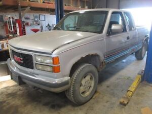 parting 94 GMC 4x4 pickup
