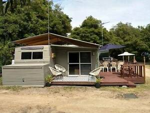 Caravan and Aluminium Annex with Deck for relocation Rosebud Mornington Peninsula Preview