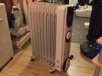 Two oil radiators