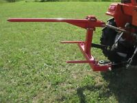 New Bale Spear for Tractor 3 Point Hitch