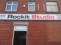Rockit Studio rehearsal room /recording studio & tuition