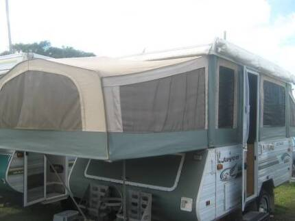 JAYCO - Eagle - OUBACK, 4-8 Berth wind up Camper with Annex