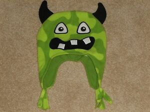 SIZE 3T-4T - TCP Microfleece Monster Hat