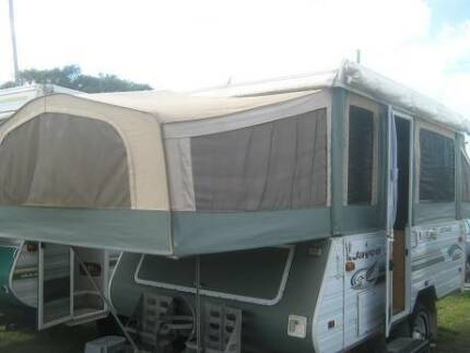 JAYCO - EAGLE - OUTBACK - 4-8 Berth wid up Camper with Annex