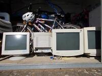 FREE 4 x CRT Monitors
