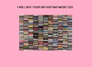 I will buy your old Hip-Hop Rap CDs