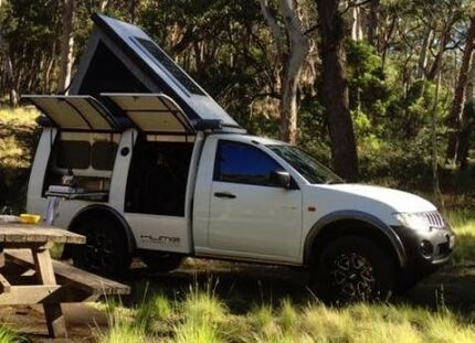 Expedition camper by Hume custom RV's