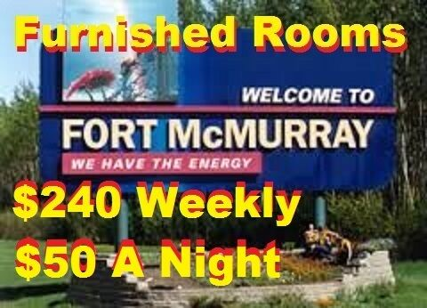 = Fully Furnished Rooms = .$240 Weekly or $50 A Night 7808802428