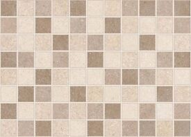 Mosaic Tiles, Cream, Size: 30cm x 41.6cm, CHEAP&NEW
