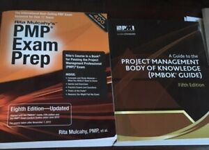 PMP Books - 3 books in great shape