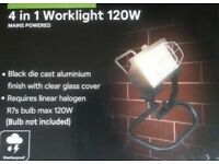 Homebase 4 in 1 Worklight 120W (Bulb Not Included)