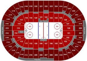 Philadelphia Flyers at Detroit Red Wings - Blue Line seats !!!! Windsor Region Ontario image 2