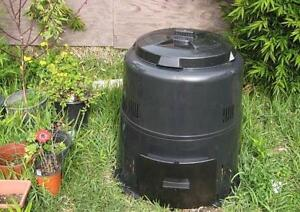 TWO Earth Machine Backyard Composters - NEW!