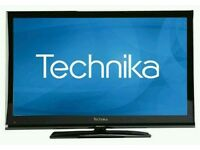 "Technika 32"" lcd tv built in freeview full hd 1080p."