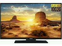 "Panasonic 40"" LED tv built in HD freeview USB media player full hd 1080p."