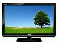 "Toshiba 32"" LED tv builtin freeview USB media player fullhd ."