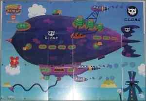 MOSHI-MONSTERS-SERIES-2-AIRSHIP-MAP-BLIMP-VIRTUAL-CODE-CARDS-UNUSED-C-L-O-N-C